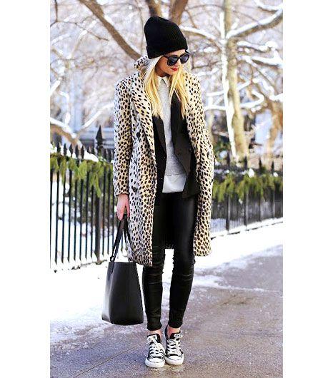 výrazný kabát