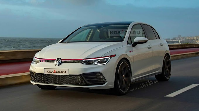 vw golf GTI 2021 officially