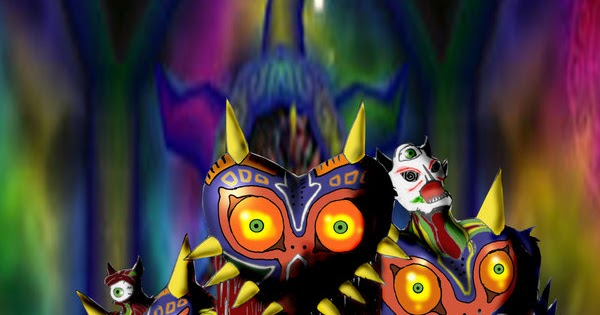 In A Cruel And Evil World Being Cynical Can Allow You To: Pixels N' Print: Cruel Angel Thesis: Majora's Mask Part 27