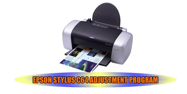 Epson Stylus C64 Printer Adjustment Program