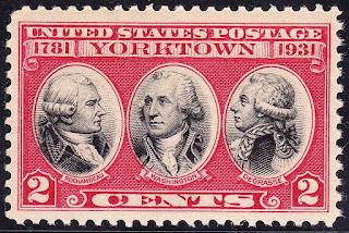 L'amiral de Grasse est représenté sur des timbres américains