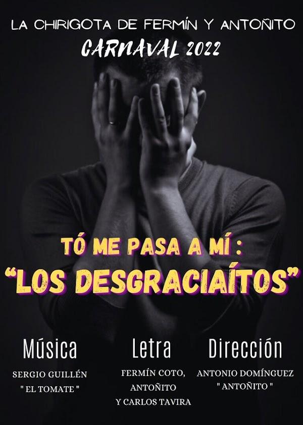 La chirigota de Puerto Real será 'To me pasa a mí: Los desgraciaítos'