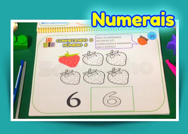 Matemática e números.