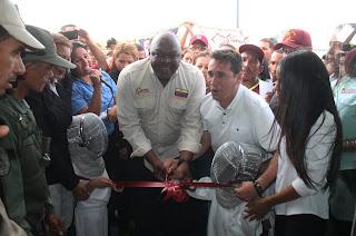 """Inauguración de la Gran Base de Misiones de Paz """"Hugo Chávez Frías en Lomas de Funval"""