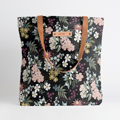 Wildflower Scatter Snap Tote