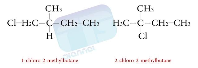تسمية الهاليدات وفق قواعد IUPAC