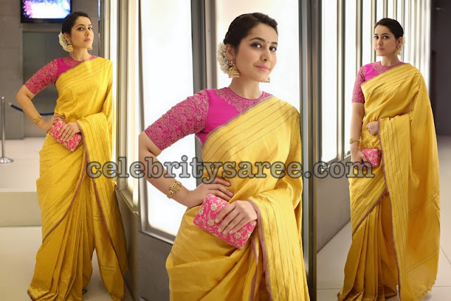 Rashi Khanna Traditional Silk Sarees