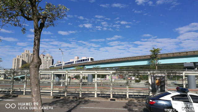 A street view of MRT in Maokong Gondola