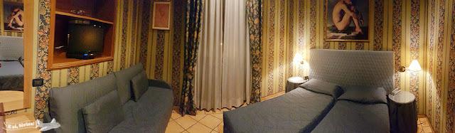 Quarto, Hotel Lirico, Roma, Itália