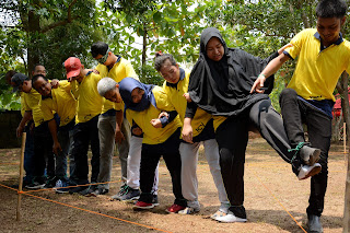 Outbound villa bamu kuning