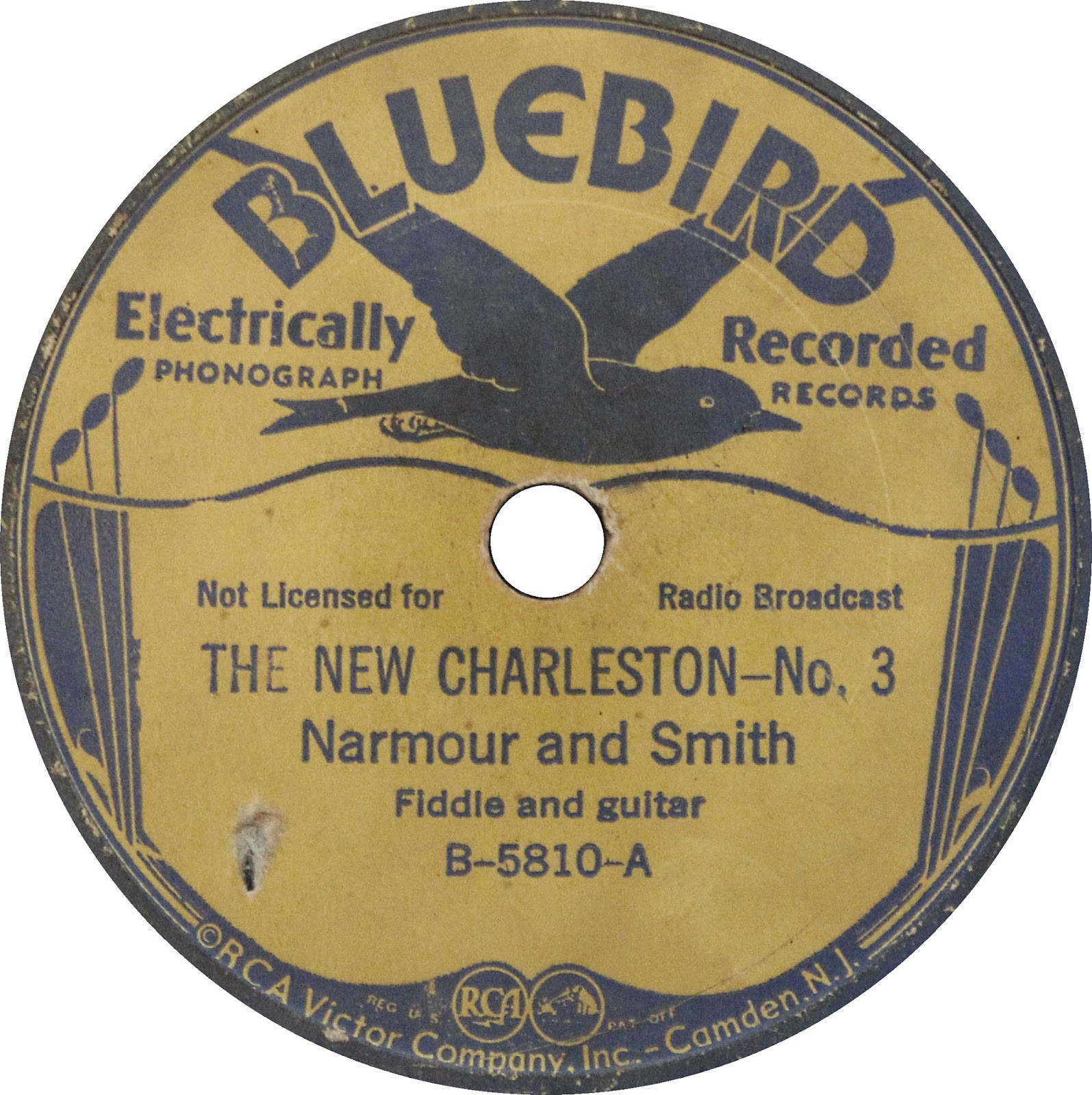 Narmour and Smith Narmour And Smith The New Charleston – No. 2 - The New Carroll County Blues – No.2