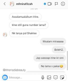 Mira Filzah Pelakon Paling Popular Malaysia Beli Set Shaklee
