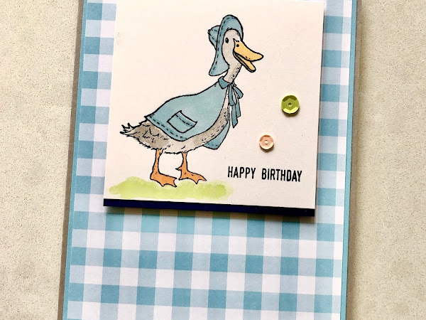 Birthday duck