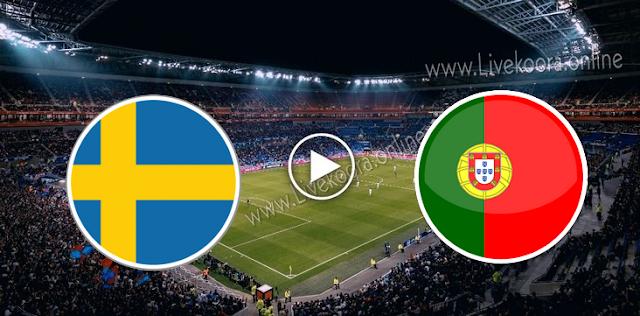 موعد  مباراة البرتغال والسويد بث مباشر بتاريخ 14-10-2020 دوري الأمم الأوروبية