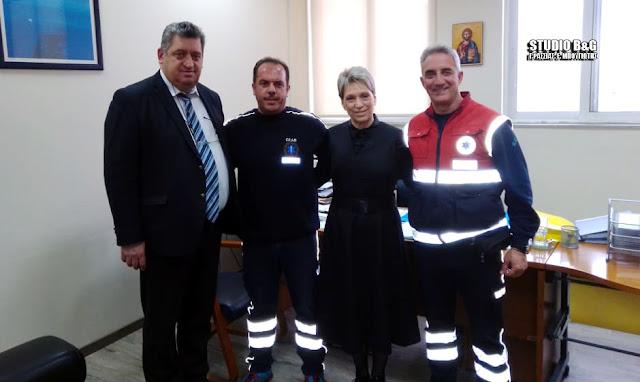 Εκαβίτες από το Ναύπλιο συναντήθηκαν με τον Διοικητή του Λαϊκού Νοσοκομείου Χρήστο Αντωνόπουλο
