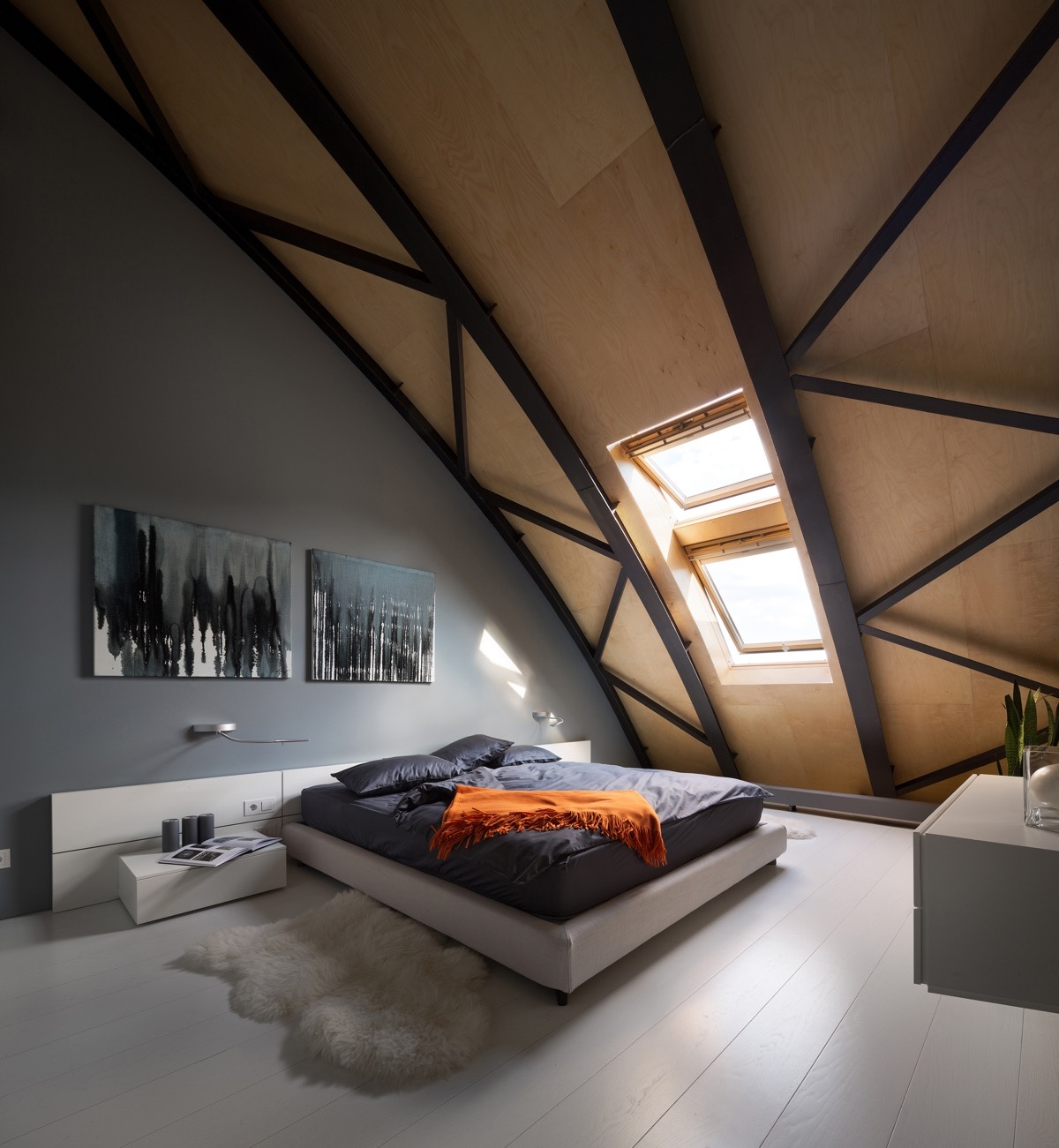 Desain Kamar Tidur Loteng Yang Menakjubkan