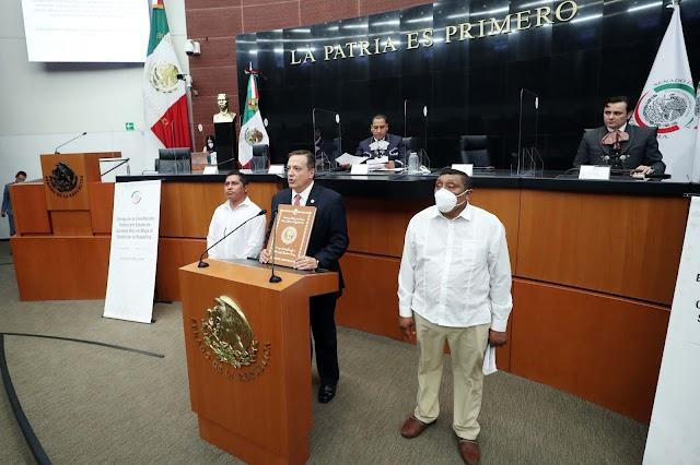 Recibe el Senado la Constitución de Quintana Roo traducida al maya