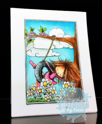 Tiddly Inks, Kecia Waters, Copic markers, coloring book