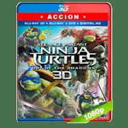 Tortugas Ninja 2: Fuera de las sombras (2016) 3D Half OU 1080p Audio Dual Latino-Ingles