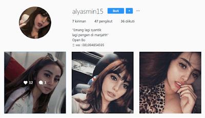 alyasmin15 akun instagram wanita panggilan untuk jawa timur surabaya