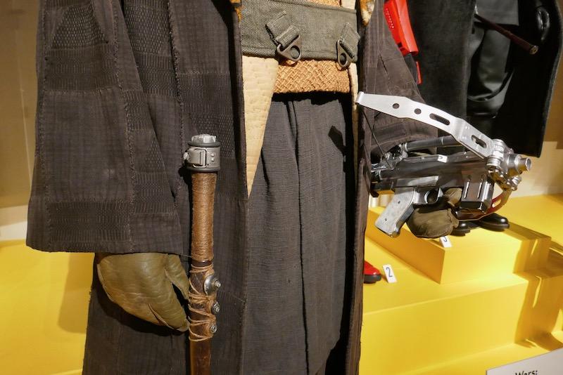 Star Wars Rise Skywalker Lando Calrissian costume prop detail