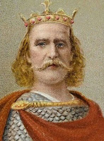 El rey inglés Harold Godwinson