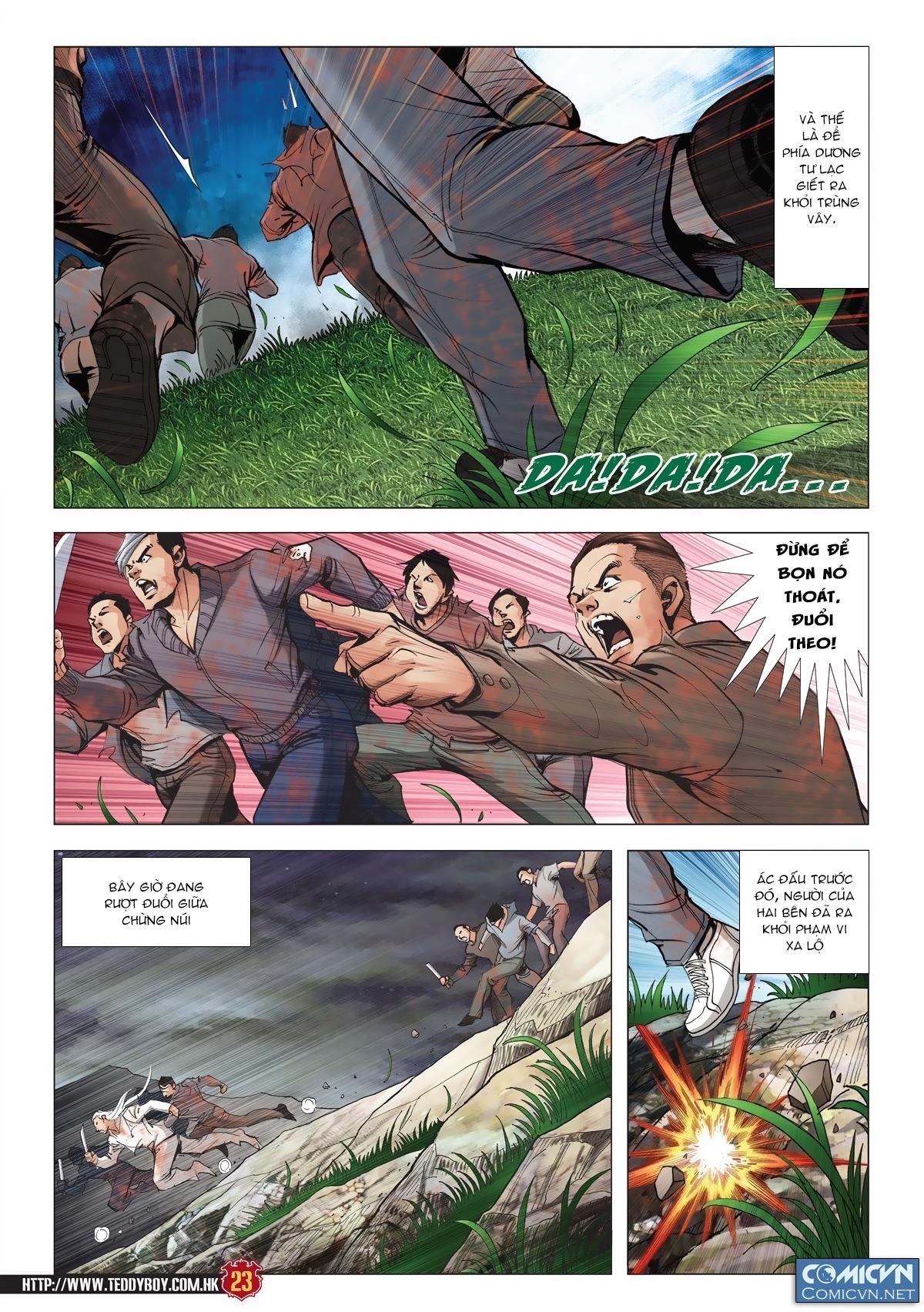 Người Trong Giang Hồ chapter 1986: chạy trang 21