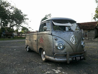 BUKALAPAK MOBIL KLASIK : Dijual VW Kombi Dakota Brazil