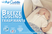 Logo Air Cuddle : diventa tester cuscino Breeze