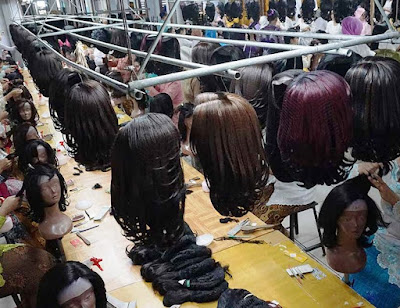 pabrik wig di Purbalingga, Jawa Tengah