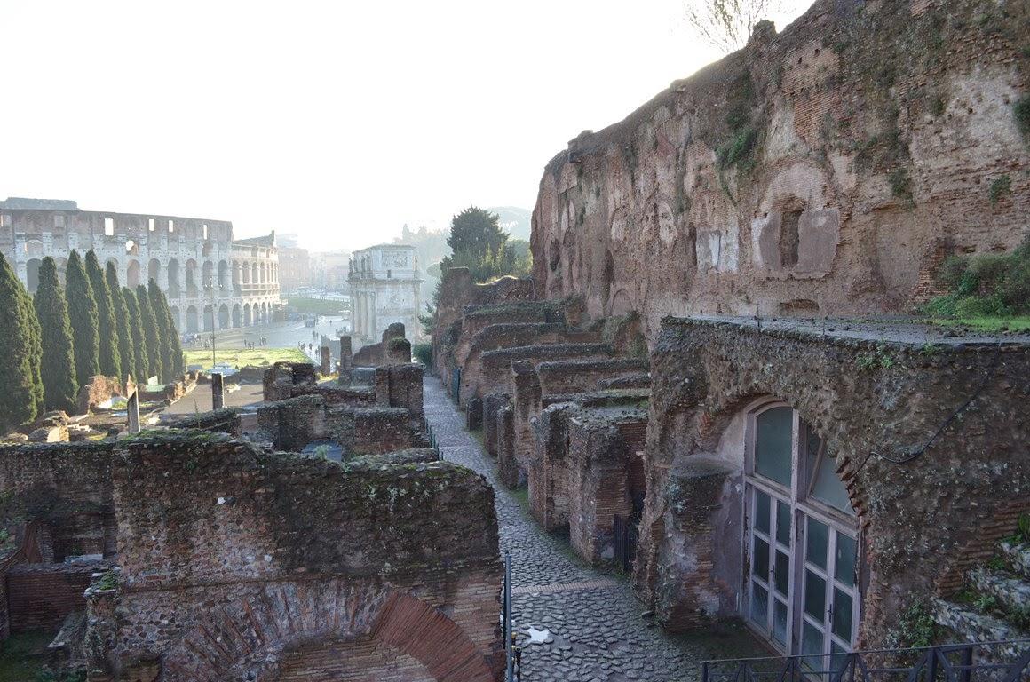 I Viaggi Di Raffaella Roma Il Foro Romano Sezione Orientale
