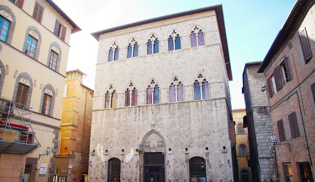 Palazzo Tolomei en Siena