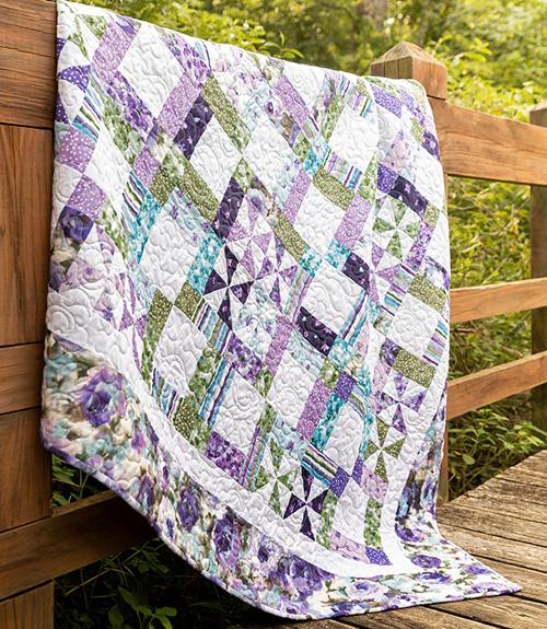 Framed Pinwheels Quilt Tutorial