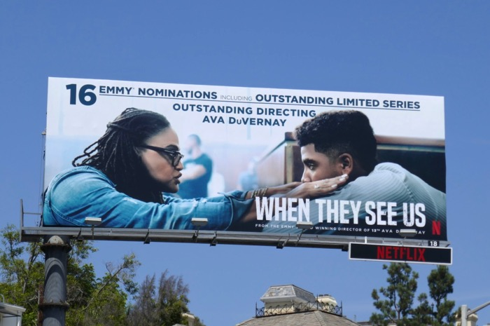 When They See Us 16 Emmys billboard
