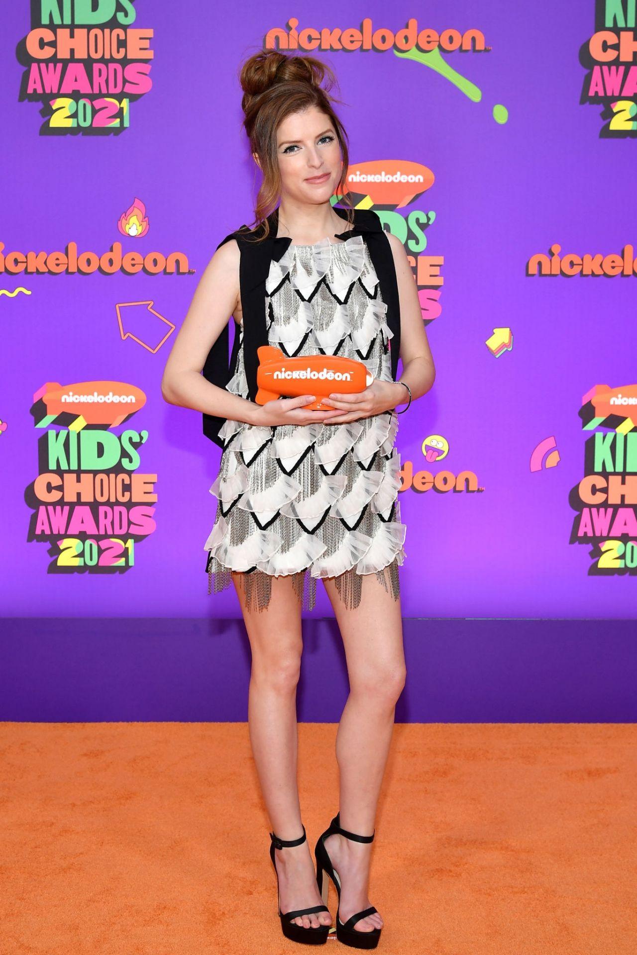 Anna Kendrick – 2021 Nickelodeon Kid's Choice Awards in Santa Monica