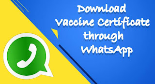 How to Download Vaccine Certificate through WhatsApp