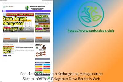 Website Desa Banyukapah