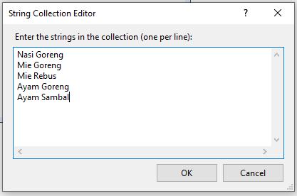 Cara menggunakan combobox  pada VB.Net
