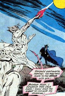 Phantom Stranger #26, demons summon the moon