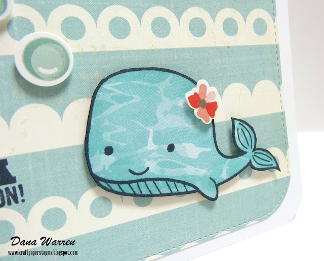 Dana Warren - Kraft Paper Stamps - Photo Play Paper & Jillibean Soup