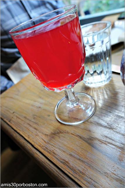 Cranberry Mors del Restaurante Ruso Mari Vanna en Nueva York
