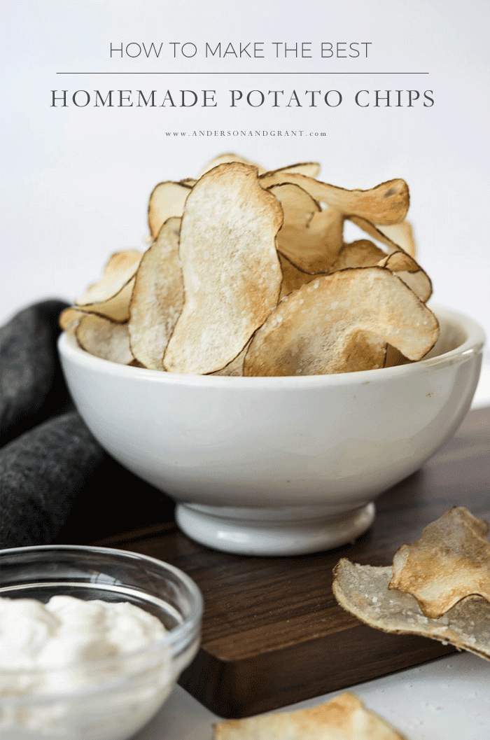 How to make the best homemade potato chips