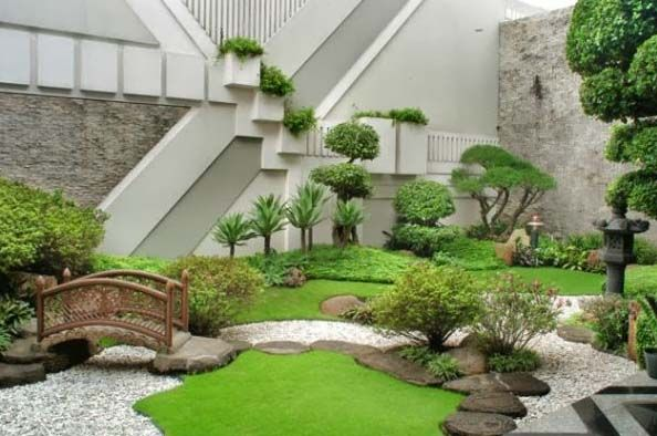 Tukang Taman Sentul Murah Dan Profesional - Taman Jepang Modern