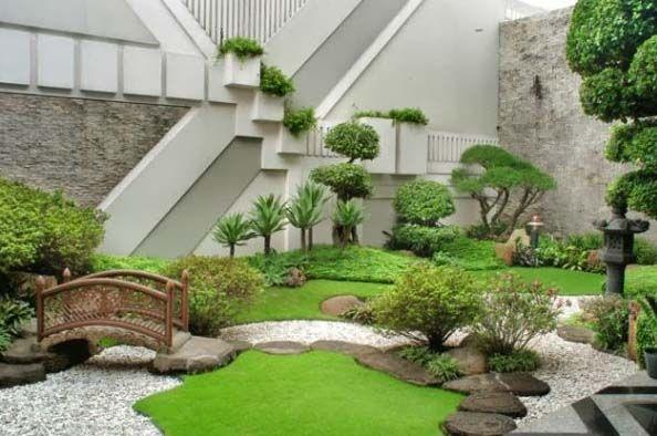Tukang Taman Jakarta Barat Murah Dan Profesional - Taman Jepang Modern