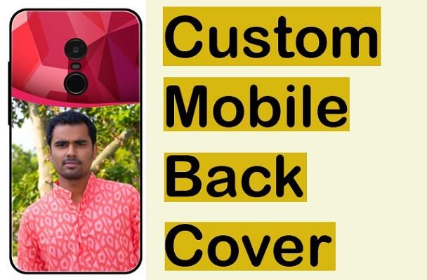 custom mobile back cover