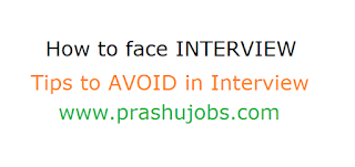 how to face interview for freshers in Video