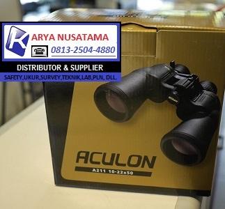 Jual Teropong Binocular ACULON A211 10-22X50 di Denpasar