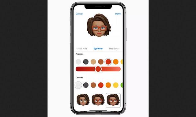 AR Emoji app for iPhone