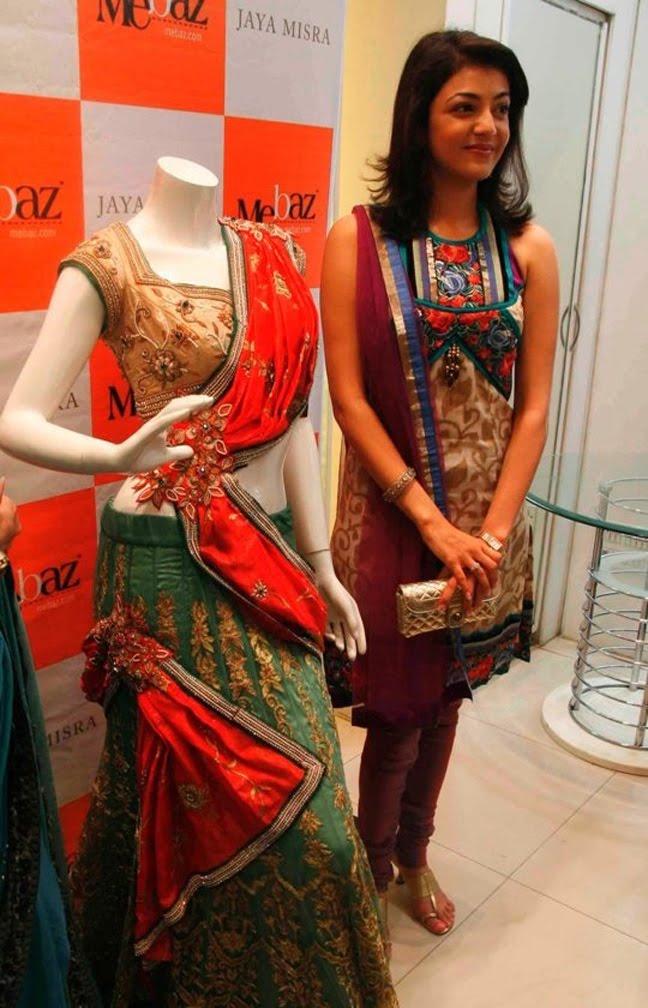 Kajal Agarwal latest Photos In Designer Dress