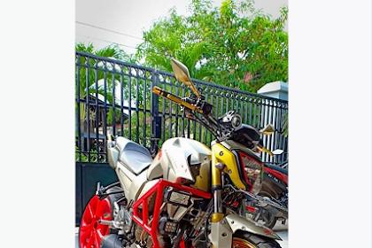 Modifikasi Knalpot Standar Yamaha Byson Jadi Model Underbelly